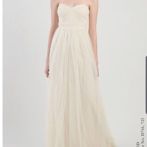 Beautiful Jenny Yoo Sz 0 Tulle Gown
